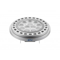 LED lempa 12W 3000K AR111 šviesos kampas 45°  - 1