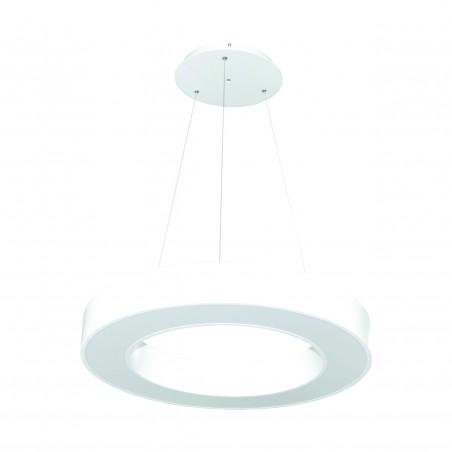 Paviršinis / Pakabinamas ant trosų žiedo formos LED šviestuvas 30W Baltas  - 1