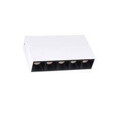 15W LED paviršinis šviestuvas FRESH C1037, 50°, 3000K  - 1