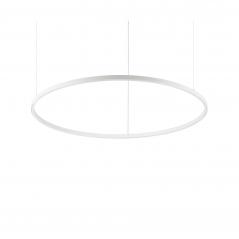 Žiedo formos šviestuvas 23W Slim baltas Diametras 600mm  - 1