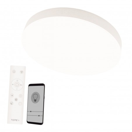 Lubinis / Sieninis LED šviestuvas 72W, su 2.4Gz belaidžiu šviesos ryškumo ir šviesos spektro reguliavimu  - 1