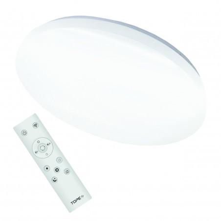 Lubinis / Sieninis 48W LED šviestuvas su belaidžiu šviesos ryškumo, šviesos spektro, RGB reguliavimu  - 1
