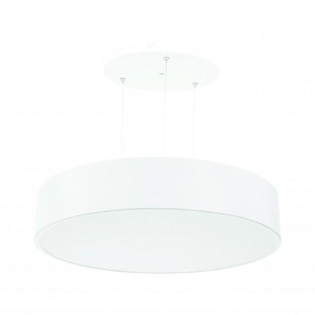 Paviršinis / pakabinamas ant trosų apvalus LED šviestuvas 40W Baltas  - 1