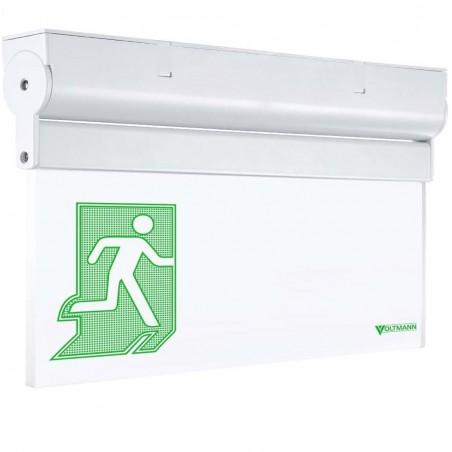Universalus lubinis / sieninis evakuacinis šviestuvas VLT-EX16MC  - 1