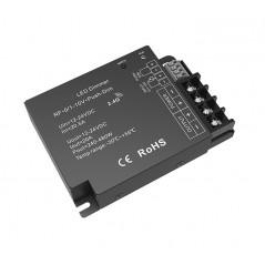 """LED juostų valdymo sistemos radiobanginis imtuvas, 0/1-10V, """"Push Dim"""" (trys viename) 12 - 24V 1x20A vienos spalvos  - 1"""