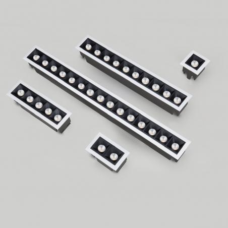 Įleidžiamas LED šviestuvas LATTICE 2W/4W/10W/20W/30W, 45°, 3000K