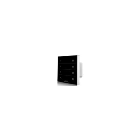 Lietimui jautrus šviesos intensyvumo reguliatorius, juodas, 4 kanalai RF 2.4GHz  - 1