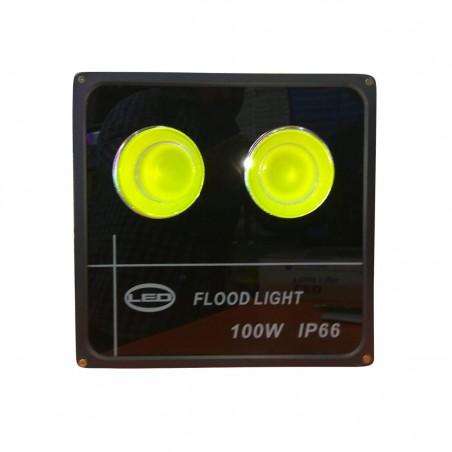 LED Prožektorius 100W, IP66, šviesos sklaidos kampas 60°  - 1