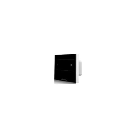 Lietimui jautrus šviesos intensyvumo reguliatorius, juodas, 1 kanalas RF 2.4GHz  - 1