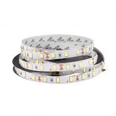 16W LED juosta šiltai balta 12V 60 LED/M  - 1