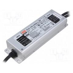 Impulsinis maitinimo šaltinis LED 24V 4A 100W, valdomas DALI, PFC, IP67, Mean Well  - 1