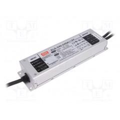 Impulsinis maitinimo šaltinis LED 24V 10A 240W, valdomas DALI, PFC, IP67, Mean Well  - 1