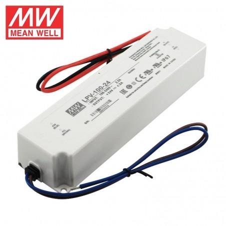 Impulsinis maitinimo šaltinis 12V 8.5A 100W IP67 Mean Well  - 1