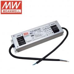 Impulsinis maitinimo šaltinis LED 24V 8.4A 200W, reguliuojamas, PFC, IP67, Mean Well  - 1