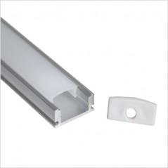 LED profilis su sklaidytuvu, paviršinis P014 2000x17.5x7mm  - 1