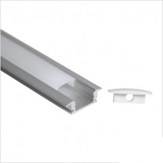 LED profilis su sklaidytuvu, įleidžiamas P024 2000x24.5(17.5)x7mm  - 1