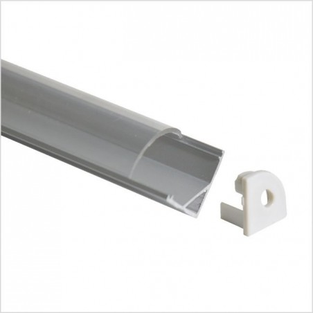 LED profilis su sklaidytuvu BN-C, paviršinis 3000x16x16 mm  - 1