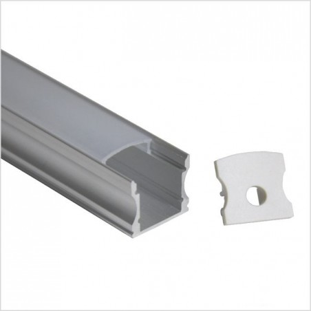 LED profilis su sklaidytuvu BN-J, paviršinis 3000x17.5x15 mm  - 1
