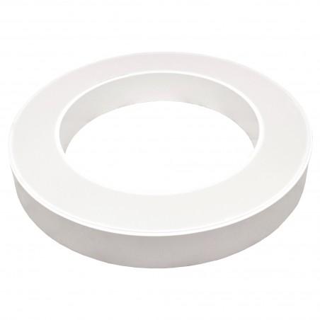 Paviršinis / Pakabinamas ant trosų žiedo formos LED šviestuvas 30W Baltas