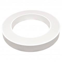 Paviršinis / Pakabinamas ant trosų žiedo formos LED šviestuvas 36W Baltas  - 2