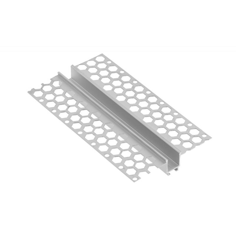 Užglaistomas LED profilis L3M 3000mm su matiniu sklaidytuvu  - 2