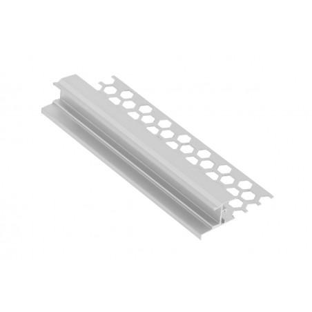 Užglaistomas LED profilis S3M 3000mm su matiniu sklaidytuvu  - 2