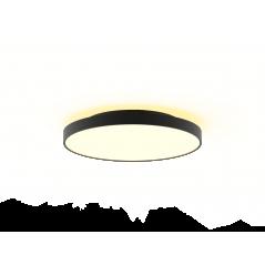 Lubinis LED šviestuvas Corona 48W žemyn +15W aukštyn, Baltas / Juodas  - 1