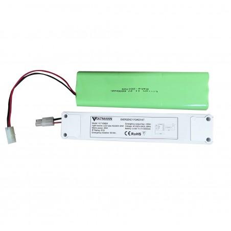 Avarinio apšvietimo modulis LED šviestuvams su vidiniu maitinimo šaltiniu iki 20W galios 3val. avarinio veikimo  - 1