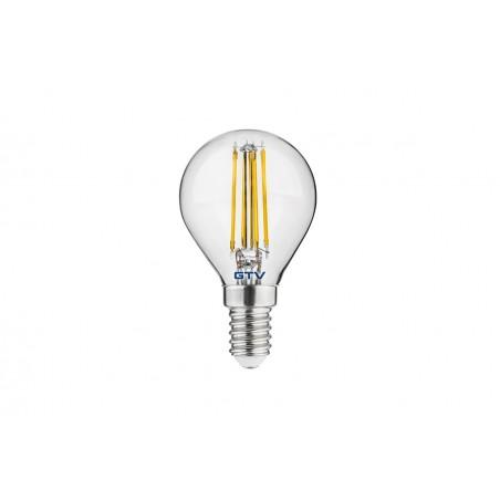 Filamentinė LED lempa E14 5W 3000K G45  - 1