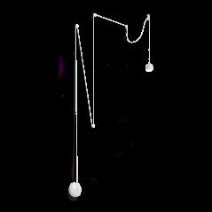 Pakabinamas Šviestuvas Tall Sp1 Small Bianco 196794  - 1