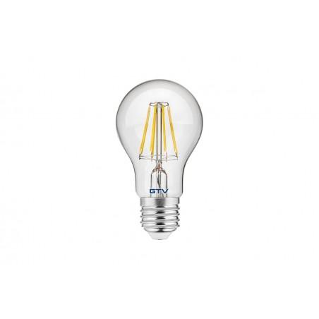 Filamentinė LED lempa E27 8W 3000K A60  - 1