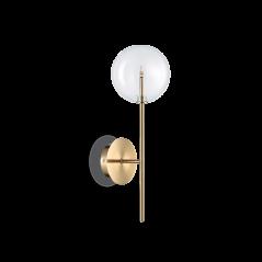 Sieninis Šviestuvas Equinoxe Ap1 Ottone Antico 200149  - 1