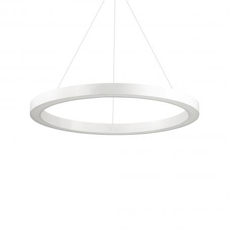Žiedo formos šviestuvas baltas diametras 1780mm