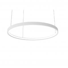 Žiedo formos šviestuvas šviečiantis į vidų 56W baltas diametras 900mm  - 1