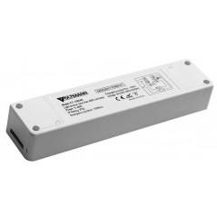Avarinio apšvietimo modulis LED šviestuvams su išoriniu maitinimo šaltiniu iki 50W galios. Integruotas akumuliatorius 3 val. ava