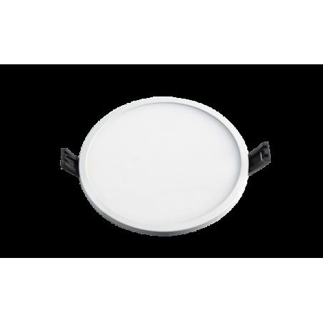 LED panelė (SLIM) įmontuojama apvali 5W, 8W, 16W, 22W, 30W, 3000K, 4000K, IP44  - 1