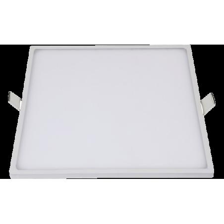 LED panelė (SLIM) įmontuojama kvadratinė 5W, 8W, 16W, 22W, 30W, 3000K, 4000K, IP44  - 1