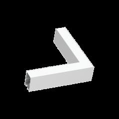 Kampinis Sujungimas Fluo Corner 3000K Baltas 191423  - 1