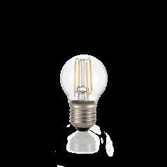 Led Lemputė E27 4W Sfera Trasp 4000K 153957  - 1