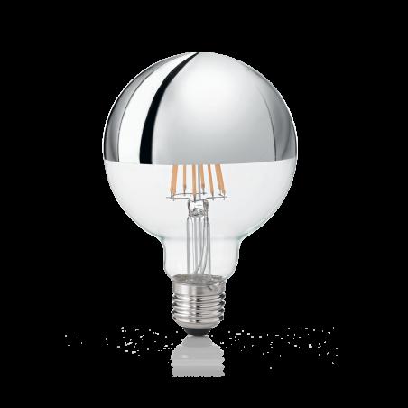Led Lemputė E27 8W Globo D095 Cromo 3000K 135526  - 1