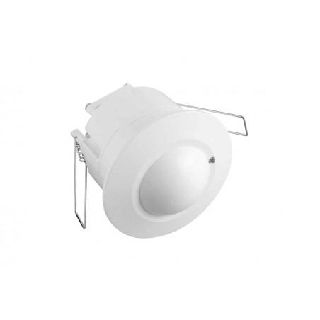 Mikrobangų judesio daviklis įleidžiamas CM-5, 360 laipsnių, baltas korpusas  - 1
