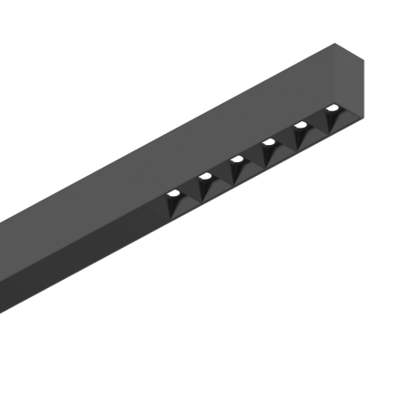 Linijinė Sistema Fluo Accent 1200 3000K Juoda 192581  - 1