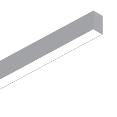 Linijinė Sistema Fluo Wide 1800 4000K Aliuminio Spalvos 192598  - 1