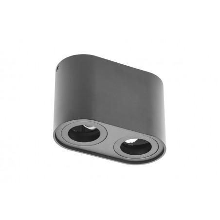 Paviršinis šviestuvas SENSO DUO, juodas, 82x162x110  - 1