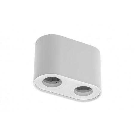 Paviršinis šviestuvas SENSO DUO, baltas, 82x162x110  - 1