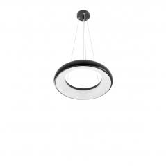 Žiedo formos šviestuvas 35W LEON juodas Diametras 419mm  - 2