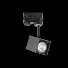 Šviestuvas Montuojamas Į Bėgelį Mouse Track Juodas 229782  - 1