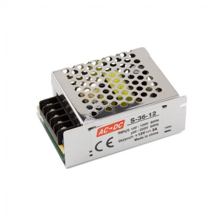 LED maitinimo šaltinis 36W-12V-3A IP20  - 1
