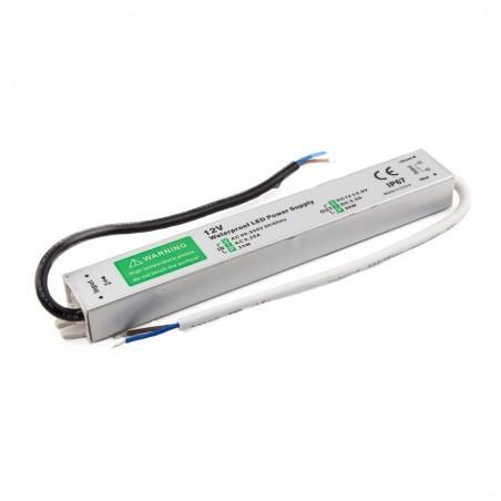 LED maitinimo šatinis 30W-12V-2,5A IP67  - 1