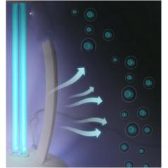 Antibakterinė ultravioletinė dezinfekcinė UV-C lempa ST-XD-02 su valdymo pulteliu  - 4